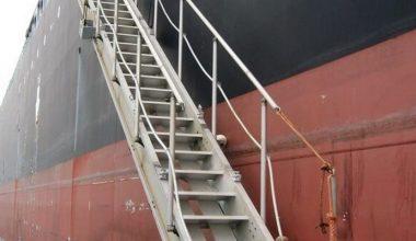 Geminin merdivenlerinden düşen gümrük muhafaza memuru hayatını kaybetti!