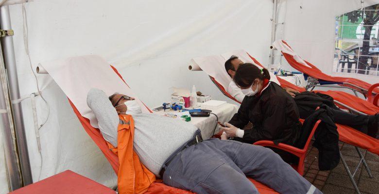Hayrabolu Belediyesi'nden kan bağışına destek