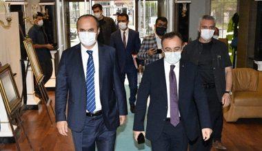 İçişleri Bakan Yardımcısı Çataklı, Edirne'de asayiş toplantısına katıldı