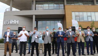 İHH Bursa şubesi Suriye'ye 5 tır yardım gönderdi
