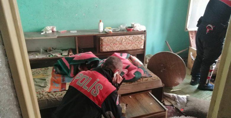 İnegöl'de metruk evde uyuşturucu kullanıldığı iddiası
