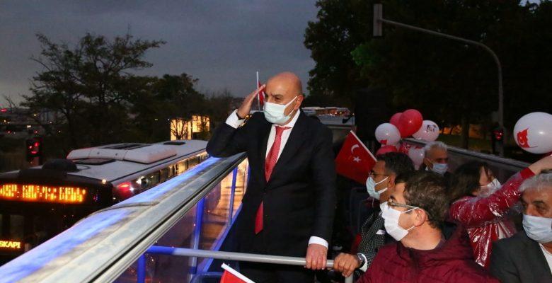 Keçiören'de 3 günlük Cumhuriyet kutlaması