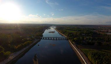 Kentin tanıtımı için Meriç Nehri'nin ortasında klip çektiler