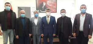 Gürcan Kılınç ve yeni yönetim kurulu üyelerinden ziyaret atağı