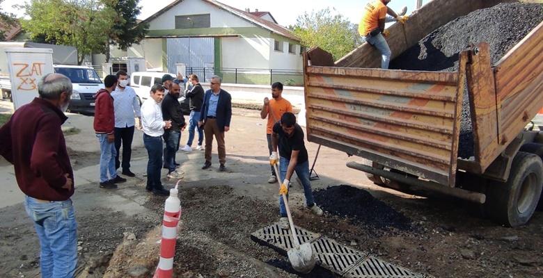 Keşan'ın iki önemli caddesinde asfalt ve kaldırım çalışması bugün start alıyor