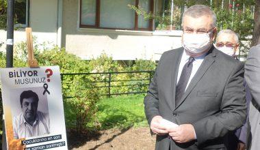 Kırklareli'nde Kovid-19 ile mücadelede hayatını kaybeden sağlıkçılar için sergi açıldı