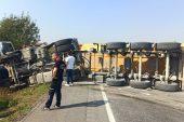 Lüleburgaz'da trafik kazası… 1 yaralı