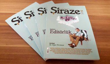 Kitap kültürü dergisi Şiraze okurla buluştu