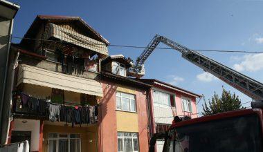 Çatıda yangın!