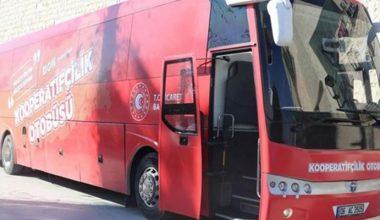 """""""Kooperatifçilik Otobüsü"""" Edirne'ye geliyor"""