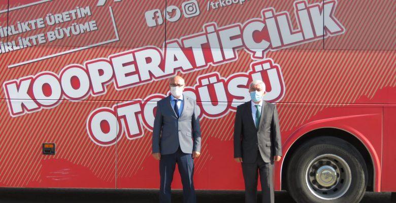 Kooperatifçilik otobüsü Lüleburgaz'da