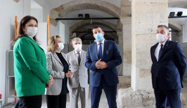 Kültür ve Turizm Bakan Yardımcısı Yavuz, Edirne'de ziyaretlerde bulundu