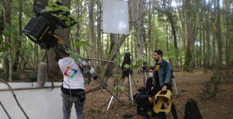Longoz Ormanları doğal film stüdyosu oldu