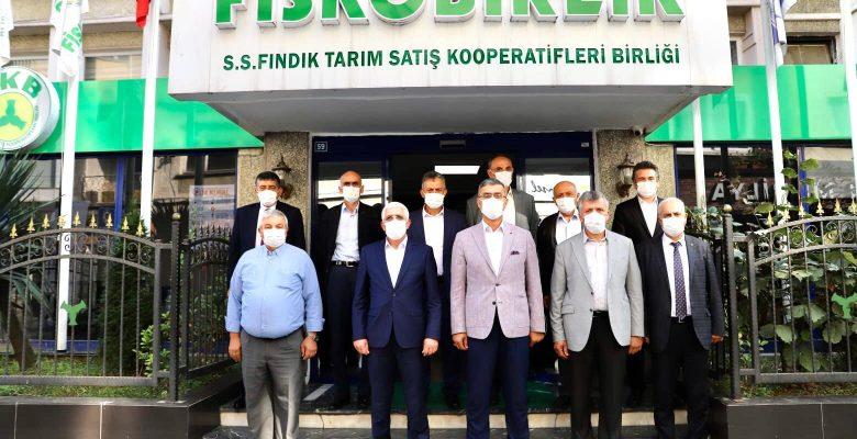 Marmarabirlik Başkanı Hidamet Asa'dan FİSKOBİRLİK'e ziyaret
