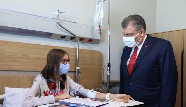 Sağlık Bakanı Fahrettin Koca, Bursa Şehir Hastanesi'ni ziyaret etti