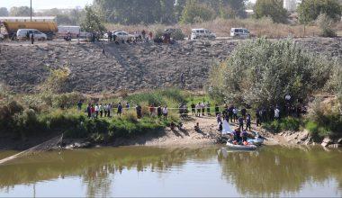 Nehirde kaybolan çocuğun cansız bedenine ulaşıldı