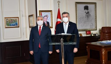 Sanayi ve Teknoloji Bakan Yardımcısı Hasan Büyükdede, Tekirdağ'da