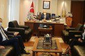SGK İl Müdürü Süleyman Lale, ETSO'yu ziyaret etti