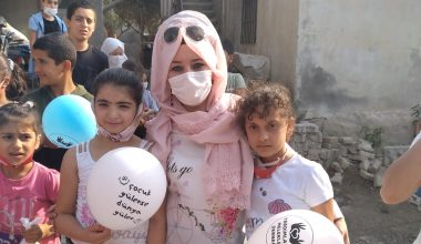 Suriyeli Türkmen yetimlerle buluştular