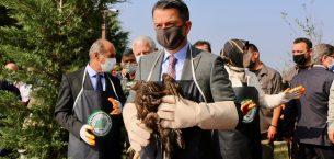 Bakan Pakdemirli Hersek Lagünü Kuş Gözlemevi'nin açılışında konuştu