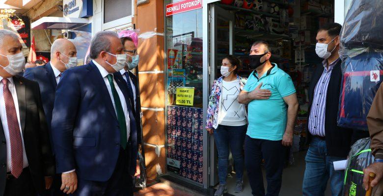"""TBMM Başkanı Şentop; """"Türkiye salgın sürecini en az zararla yürüten ülkelerden"""""""