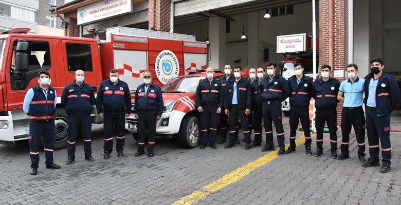 Tekirdağ'dan İzmir'e itfaiye ekibi desteği
