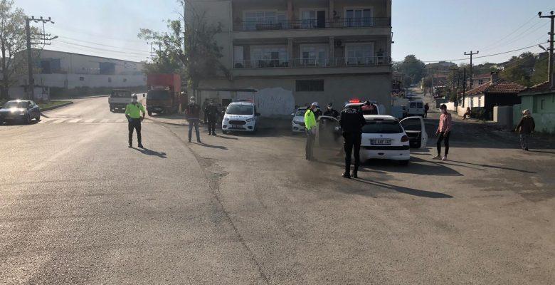 Tekirdağ'da asayiş uygulamasında 25 şüpheli gözaltına alındı