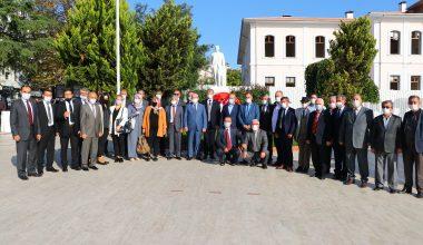 Tekirdağ'da Muhtarlar Günü dolayısıyla tören düzenlendi
