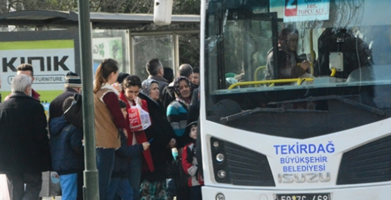 Toplu taşıma araçlarında ayakta yolcu alınması yasaklandı!