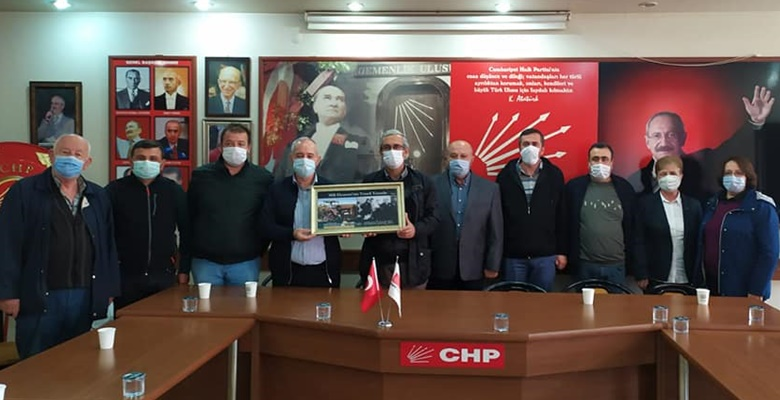 Ticaret Borsası yönetiminden CHP'ye ziyaret