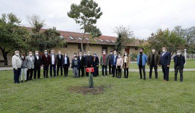 Karağaç Yerleşkesi Cumhuriyet Fidanlığı'na 97'nci yıl fidanı dikildi