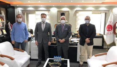 AA Sakarya Bölge Müdürü Velioğlu'ndan, Sakarya Cumhuriyet Başsavcısı Dursun'a ziyaret