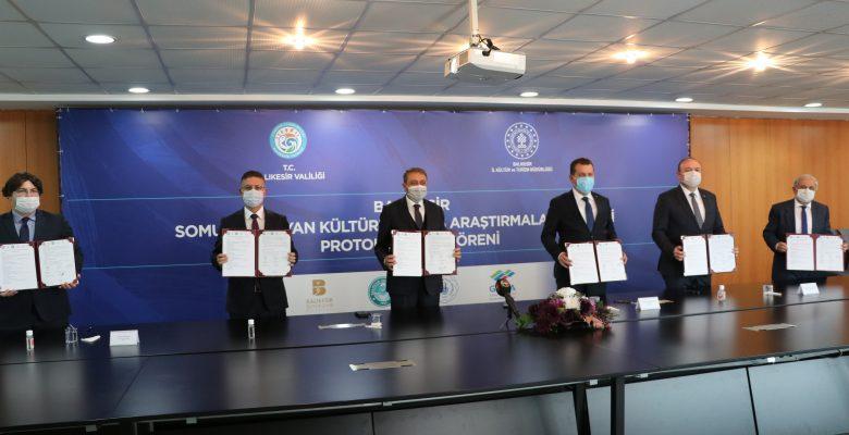 """""""Somut Olmayan Kültürel Miras Araştırmaları Projesi"""" için tanıtım ve imza töreni yapıldı"""
