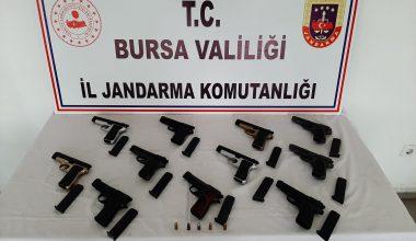 Silah kaçakçılığı şüphelisi gözaltına alındı