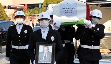 Vefat eden emekli Vali Zekai Gümüşdiş son yolculuğuna uğurlandı