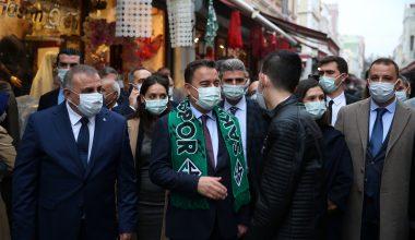 DEVA Partisi Genel Başkanı Babacan, partisinin Sakarya kongresine katıldı