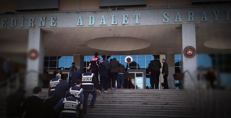 Edirne merkezli FETÖ operasyonunda 2 tutuklama!