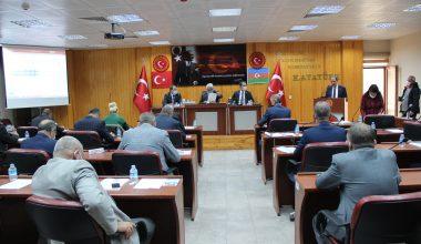 Edirne İl Genel Meclisi 2021 yılı bütçe görüşmeleri devam ediyor