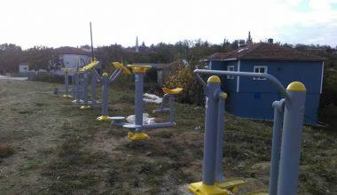 Edirne'nin köylerinde sosyal alanlar arttırılıyor…