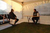 Edirne Vakıflar Bölge Müdürlüğü toplum sağlığı için hizmetlerini çadırda veriyor