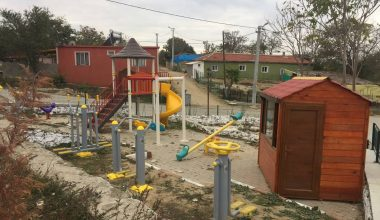 Edirne Valiliği köylerdeki sosyal alanları genişletiyor
