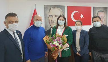 Eğitimci il başkanı İba'nın Öğretmenler Günü'nü kutladılar