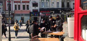 Edirne'ye gezmeye gelen turistlere Kovid-19 tedbirlerine uymayınca ceza kesildi