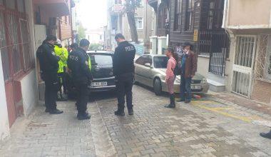 Babasının arabasını alıp trafiğe çıkan ehliyetsiz sürücü bir polisi yaraladı