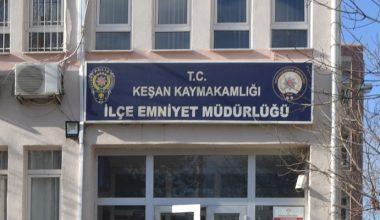 Keşan'da uyuşturucu operasyonunda yakalanan 3 zanlı tutuklandı