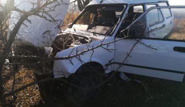 Keşan'da kontrolden çıkan otomobil ağaca çarptı… 1 yaralı