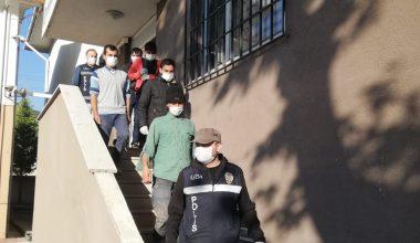 5 göçmen yakalandı