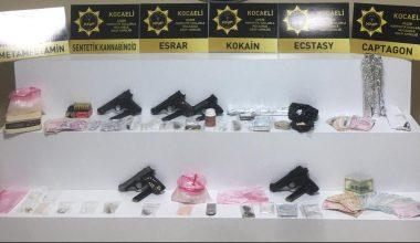Uyuşturucu operasyonunda yakalanan 15 şüpheliden 9'u tutuklandı