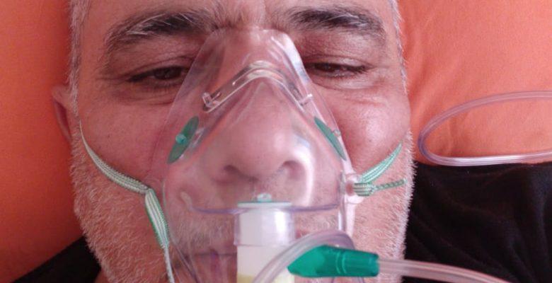 """Kovid-19 tedavisi gören eski milli boksör Bahattin Lezgi'den """"maske"""" çağrısı"""