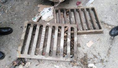 Keşan'da yağmur mazgallarını çalan iki kişi tutuklandı!